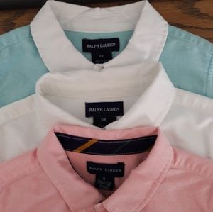Ralph Lauren 3 girls blouses